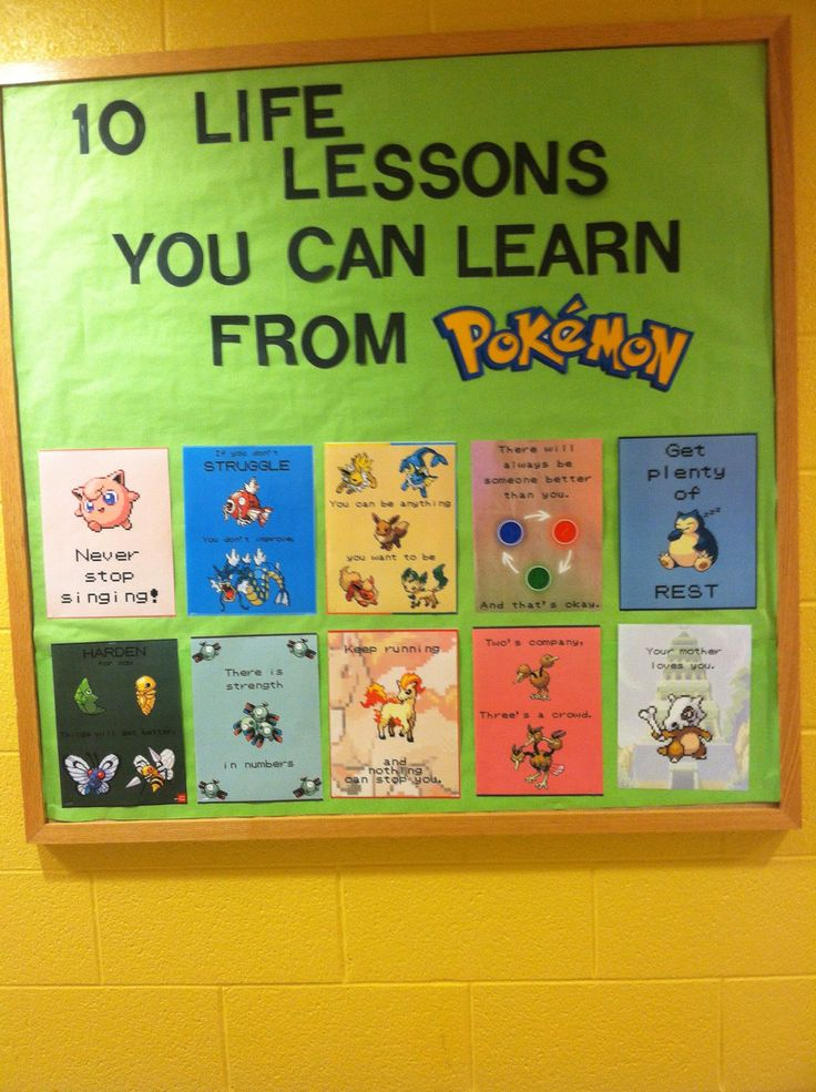 10 life lessons you can learn from Pokemon  - Bulletin board