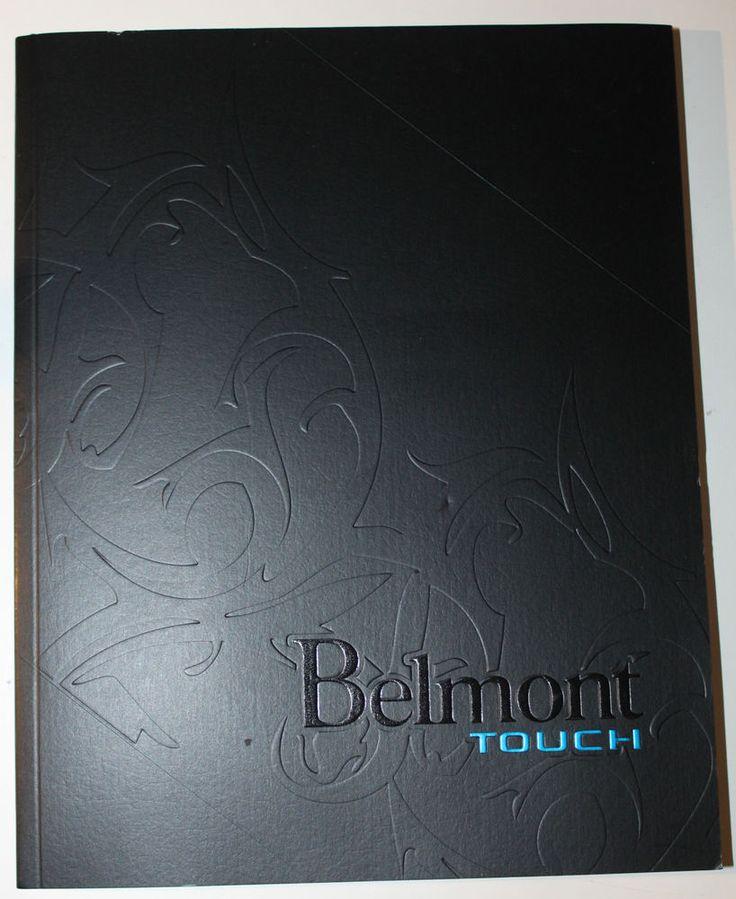 Belmont Touch Cigarette Tobacco Vendor Ordering Book Notebook Canada