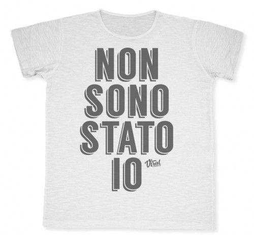 Non sono stato io #tshirt #viraltshirt #viral #summer15 #graphic #graphicdesign #italy #creativity #male #fashion #shirt #style