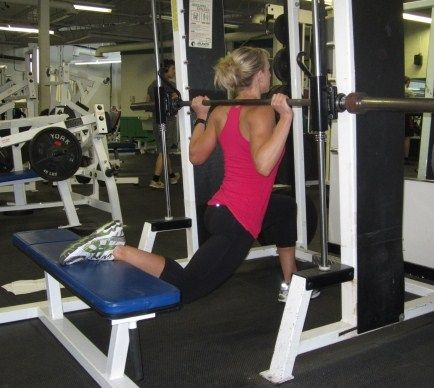 single leg smith machine squatooh i have to try this
