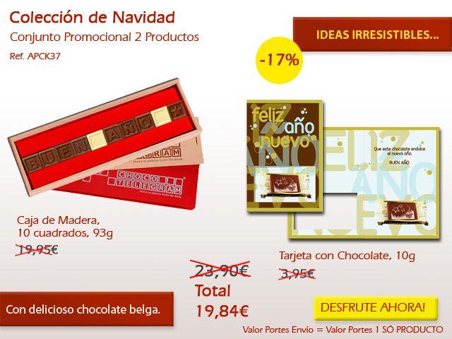 ¡Todas las alturas año son buenas para recibir un chocolate dulce, pero en Navidad es especial! ¡Ven a conocer nuestra tienda online! http://www.mysweets4u.com/es/?o=2,9,235,0,0,0