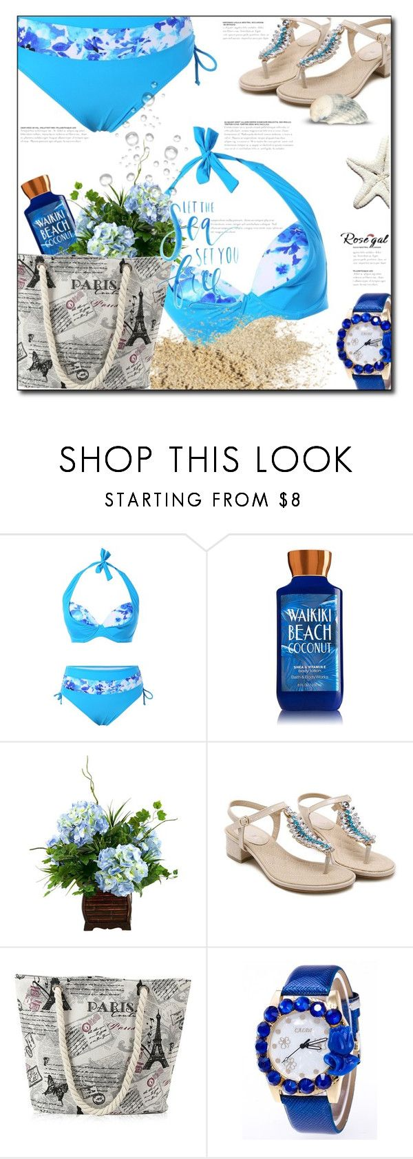 """Plus size bikini"" by anturium ❤ liked on Polyvore"