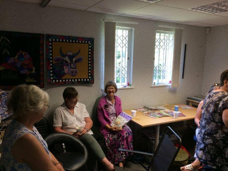 Our visit from the Solent Stitchers!