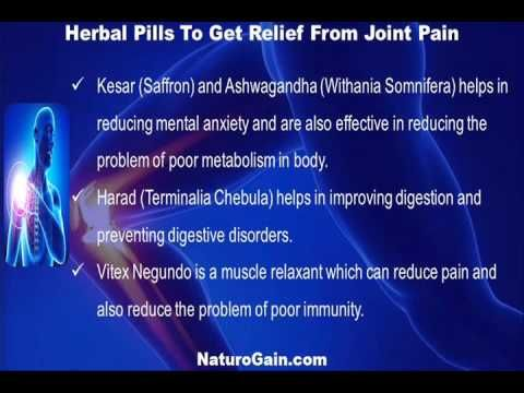 This video describes about get relief from joint pain and inflammation with herbal pills. You can find more detail about Rumoxil capsules at http://www.naturogain.com