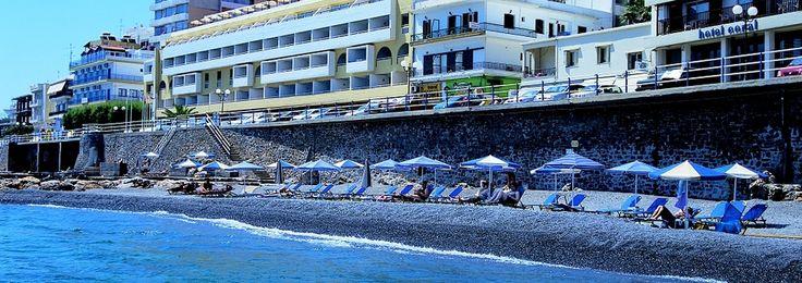 L'hôtel IBEROSTAR Hermes, un hôtel 4 étoiles avec forfait Tout inclus, est le point de départ parfait pour ceux qui souhaitent découvrir la Crète qui feront de votre séjour dans le pittoresque village de Ayios Nikolaos un séjour parfait.  Certaines installations de l'hôtel ont été rénovées entre 2007 et 2008.