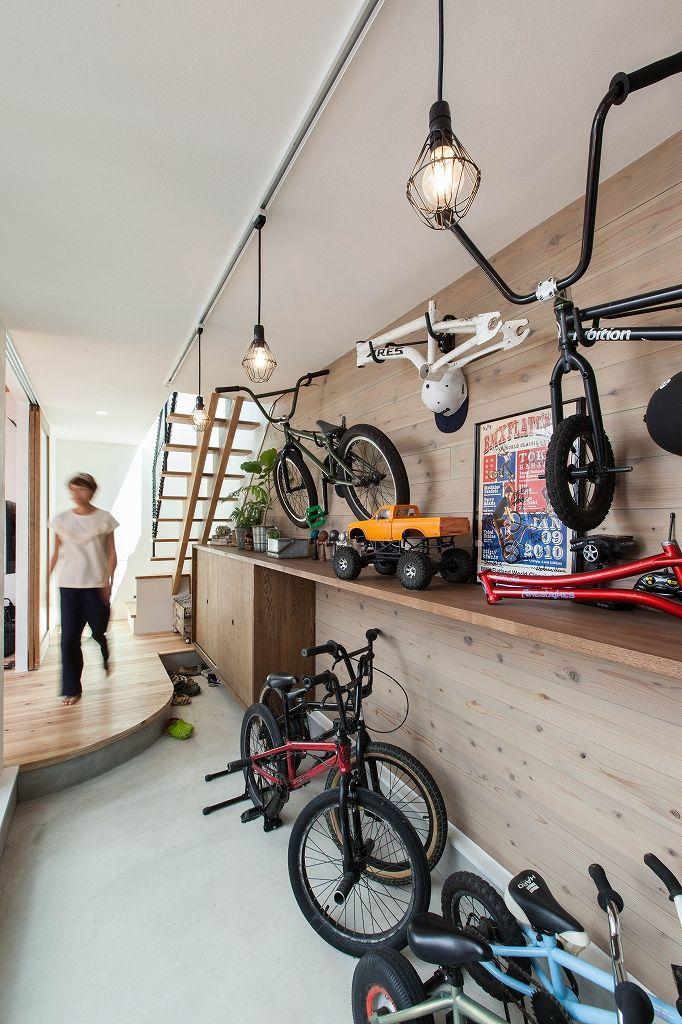 BMXと暮らす家 | ソラマド写真集
