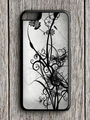 Abstract Beautiful Black Pattern iPhone 6 Case