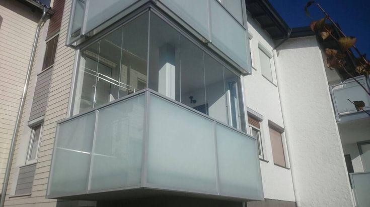 Faltwand für Balkon aus Glas - Fenster Schmidinger