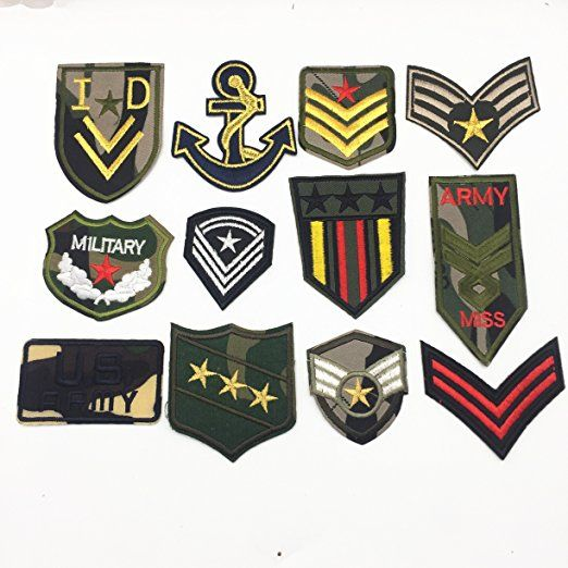 080e98546d15 US Army Military Patches Embroidery Iron On Morale Patches Clothes ...