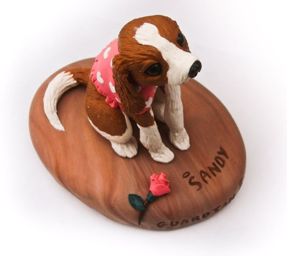 This artist is super talented! Custom dog sculpture in clay! You can submit your own puppy photo! $175.00