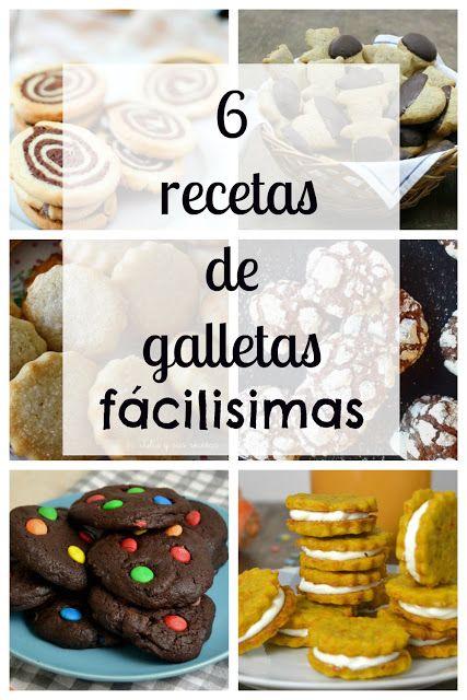 Cuuking! Recetas de cocina: 6 recetas de galletas ¡Fáciles y para todos los gu...