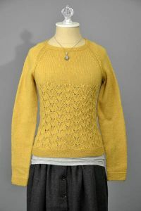In Flight Pullover Pattern free knitting pattern for lacy sweater