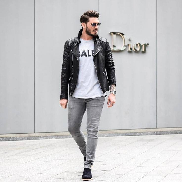 40 Mens Winter Work Outfit Styles With Winter Boots Suede Chelsea Boots Leather Jacket Whit Mens Fashion Casual Winter Leather Jeans Men Mens Winter Fashion