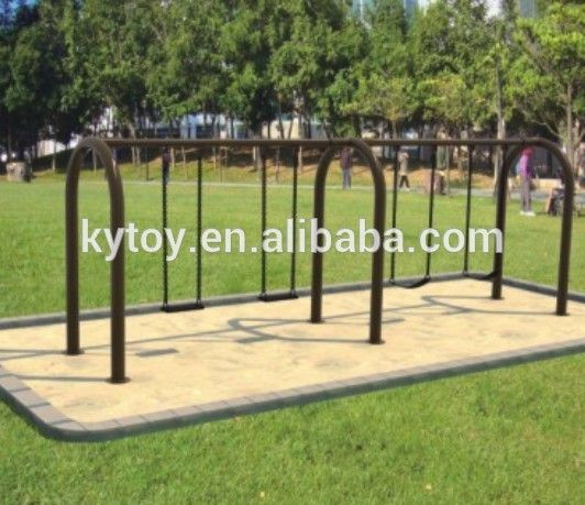 """New Galvanized steel adult swing sets for sale,leisure metal swing sets adults"""