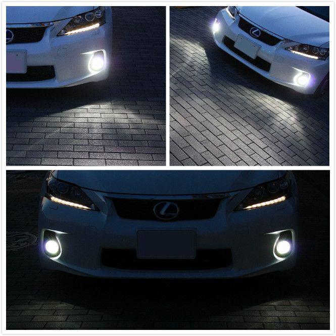 Ever since the release of our 50W CREE high power LED replacement bulbs, they have been used on a variety of cars that are looking for the most light output from an LED bulb. @  http://ijdmtoy.com/BLOG/wordpress/2013/11/18/lexus-ct200h-50w-cree-h11-led-fog-light-replacement/