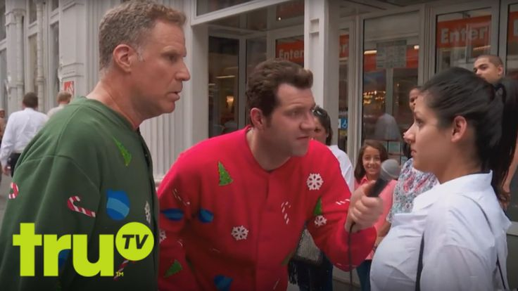 Will Ferrell & Billy Eichner Surprise New Yorkers Asking Them Christmas Movie Trivia