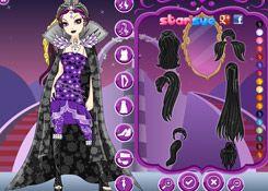 VestirEverAfterHigh.com - Juego: Legacy Day Raven Queen - Jugar Juegos Gratis Online