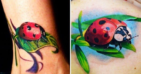 13 Really Cool Lady Bug Tattoos