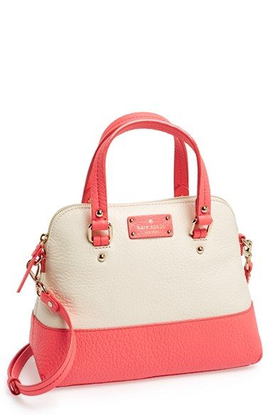 kate spade new york 'small grove court maise' leather satchel available at #Nordstrom