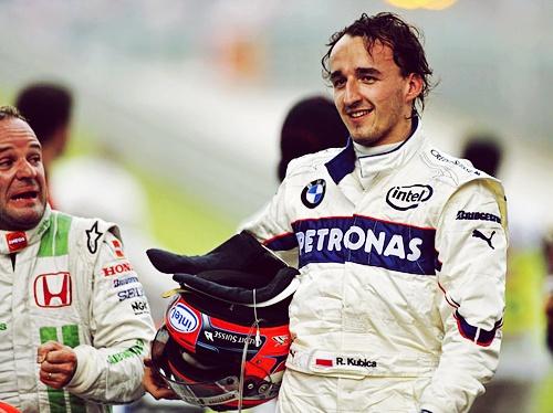 Rubens Barrichello - Robert Kubica