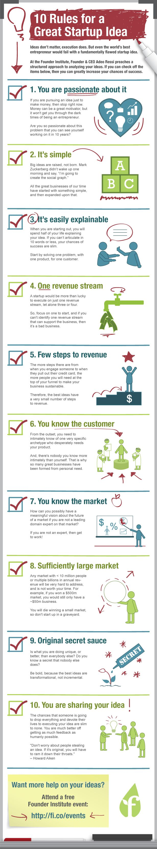 10 trucos para mejorar tu idea de negocio #Emprendedores #Entrepreneurs