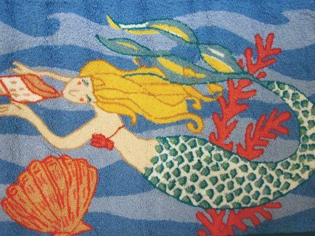 Mermaid Rug Mermaids Pinterest