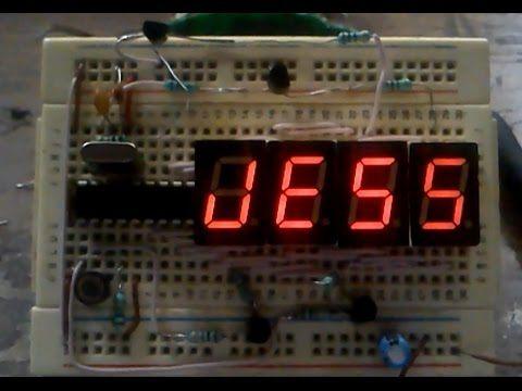 Multiplexado de Displays de 7 segmentos con el PIC16F84A