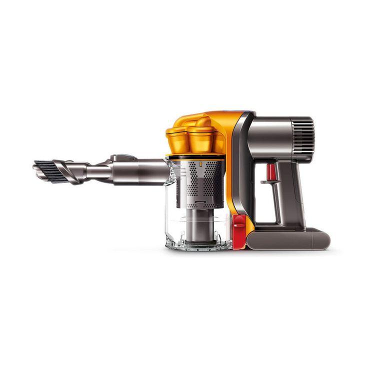 Dyson dc34 cordless handheld vacuum yellow refurbished