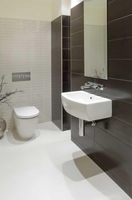 Toilet hidden cistern