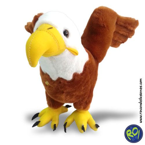 Peluche Aguila... encuéntralo en nuestros puntos de venta. #peluches #aguila #regalos  Número Único: 444 73 42  Si lo quieres dale me gusta!!