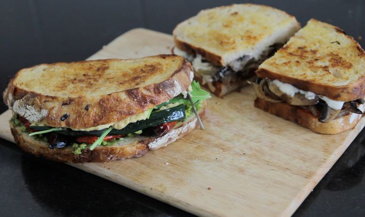 These vegan toasties are so yum! As good as/better than any grilled cheeses or toasted samis I have eaten in the past :D These are my two favourites; mushroo...