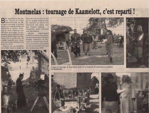 le chateau de kaamelott | La série Kaamelott à été tournée au château de Montmelas.