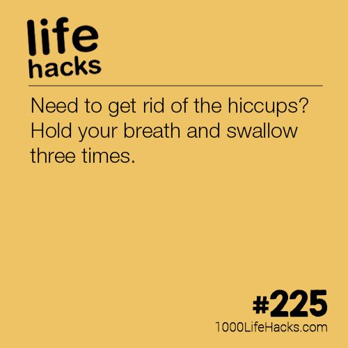 #225 – A Simple Cure For The Hiccups