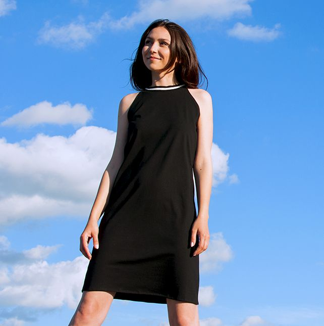 Ultralight halterneck dress