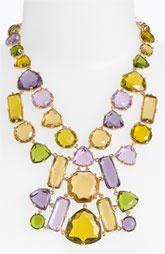 kate spade new york 'desert stone' statement bib necklace