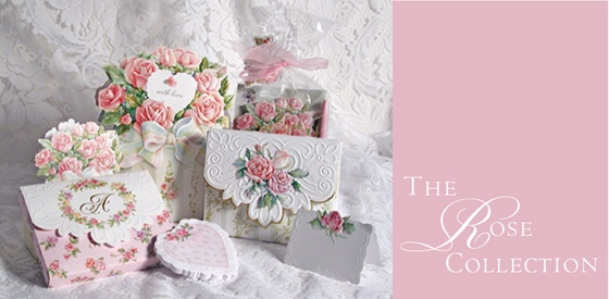 Rose Collection Stationery