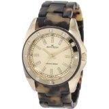 Anne Klein Women's 109178CHTO Gold-Tone Swarovski Crystal Accented Tortoise Plastic Watch (Watch)By Anne Klein
