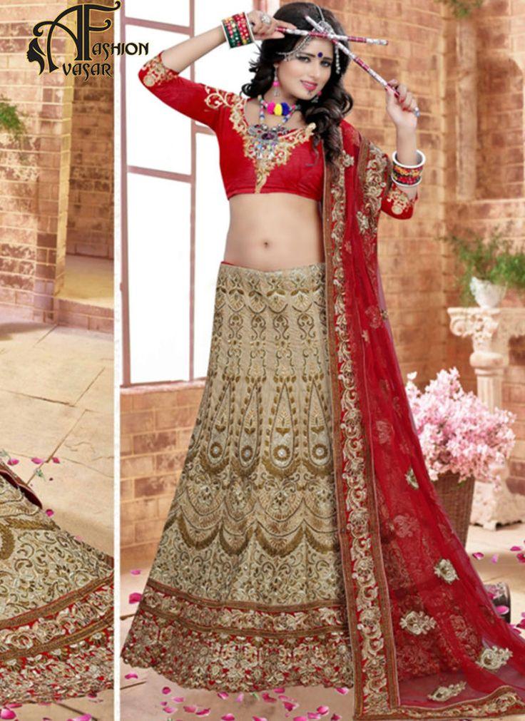 Bridal Lehenga Online Shopping-Womens Wedding Lehenga Cholis