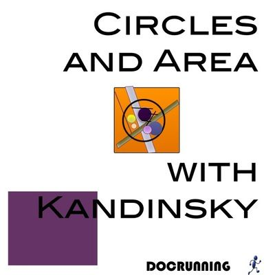 Circles and Area with Kandinsky from DocRunning Education on TeachersNotebook.com -  (35 pages)  - Using Kandinsky-inspired designs, students apply deductive reasoning to determine the formula for areas and circumference of circles.  We learn what we experience!