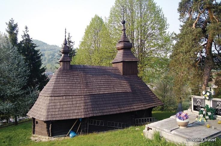 Slovakia, Inovce - Wooden church