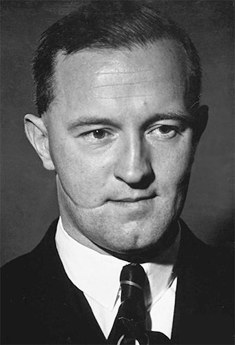 "28 May 45: Brooklyn-born William Joyce, the German propagandist whose radio broadcasts to Britain during the war earned him the nickname ""Lord Haw-Haw"" is captured by British troops. He will be hanged by the British as a traitor in 1946, being taken to owe allegiance to the UK by his possession of a British passport, a document to which, ironically, he was not entitled. He will become the last person to be executed in Britain for an act of treason. #WWII"