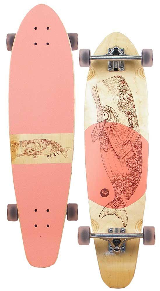 Girl Longboard Skateboard designs | Longboards For Girls Roxy Roxy balina longboard