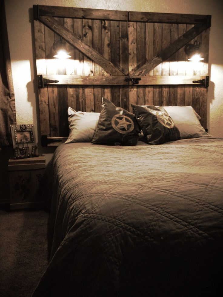 59 Incredibly Simple Rustic Décor Ideas That Can Make Your: The 25+ Best Barn Door Headboards Ideas On Pinterest