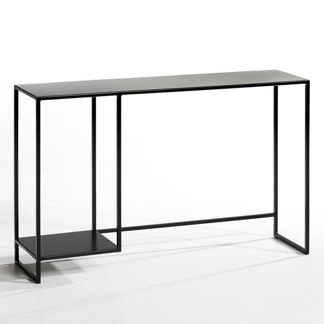 Romy Square Metal Coffee Table Am Pm: Console Bureau Trebor Design E. Gallina AM.PM