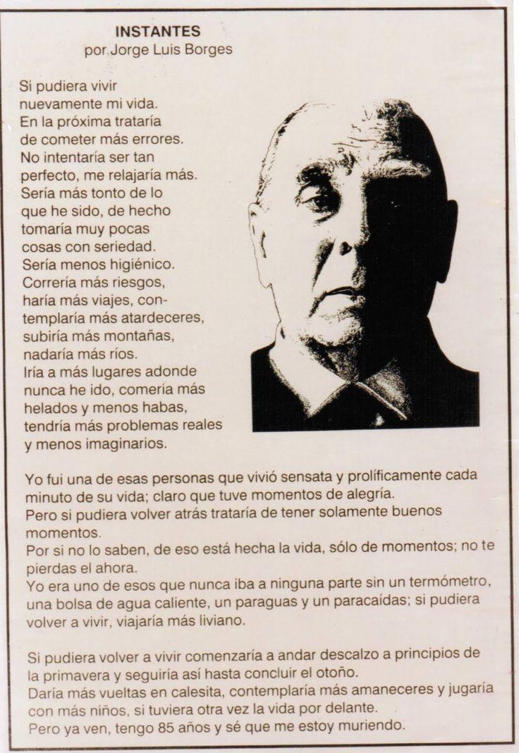 Instantes de Borges