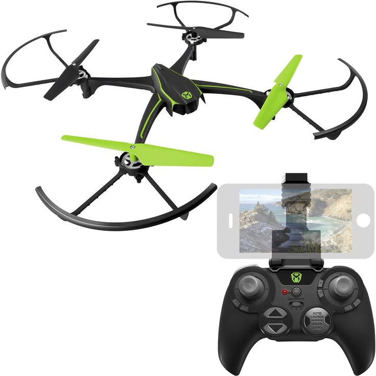 Sky Viper - V2400HD Streaming Video Drone with Remote Controller - Black