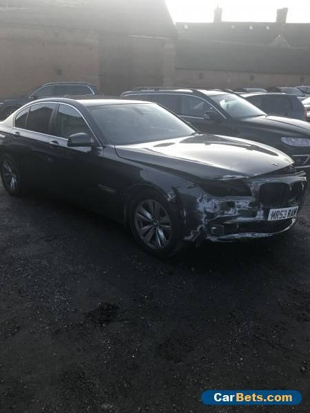 BMW 7 SERIES 3.0 730D SE  AUTO 60 REG PRIVATE PLATE SPARES REPAIRS SALVAGE    #bmw #730 #forsale #unitedkingdom