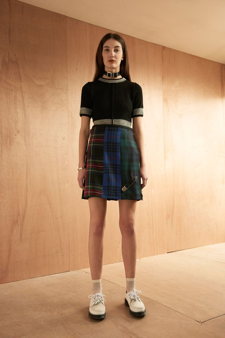 Le Kilt Fall 2016 Ready-to-Wear Fashion Show   http://www.theclosetfeminist.ca/  http://www.vogue.com/fashion-shows/fall-2016-ready-to-wear/le-kilt/slideshow/collection#4