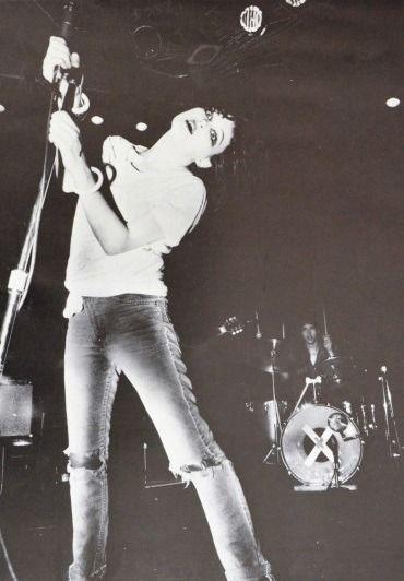 "vaticanrust:  ""Exene Cervenka of the band X, 1979.  """