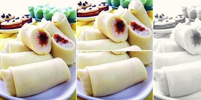 Vemale.com - Semar Mendem adalah jajanan yang mirip lemper, hanya saja bagian luarnya dibungkus adonan dadar.